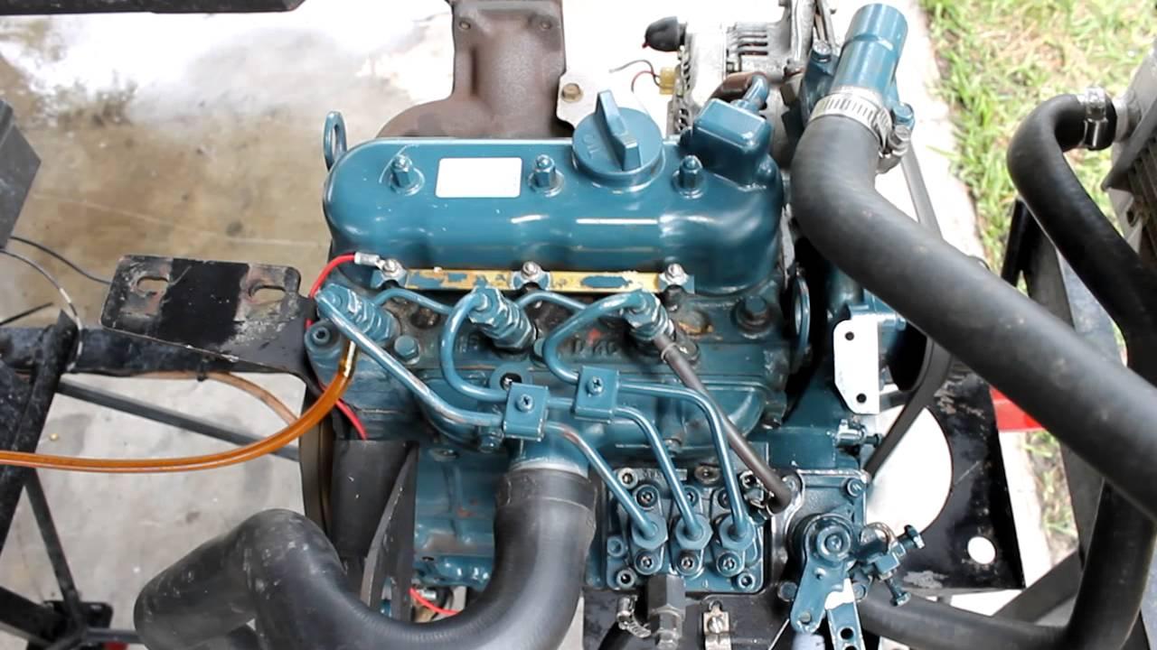 Kubota D722 Diesel Engine 003