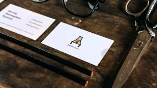 Brainmaze - дизайн логотипа и визитки для компании