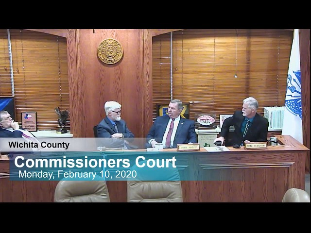 Commissioners Court 02/10/2020 Part 2