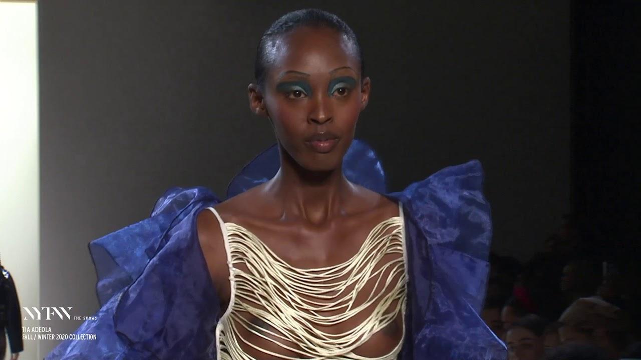 Tia Adeola February 2020 Runway at NYFW: The Shows