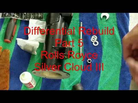 Differential Rebuild - Part 5 - Rolls Royce Silver Cloud 3