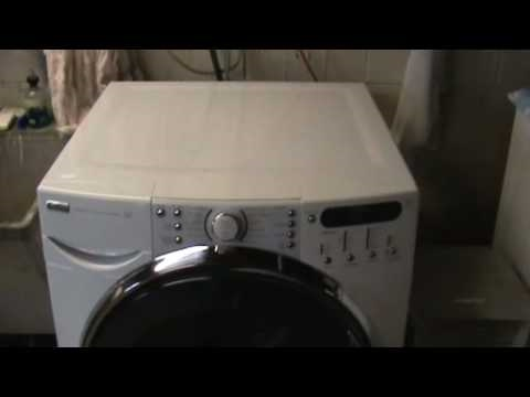 Kenmore Elite Washer with F35 error fix - YouTube