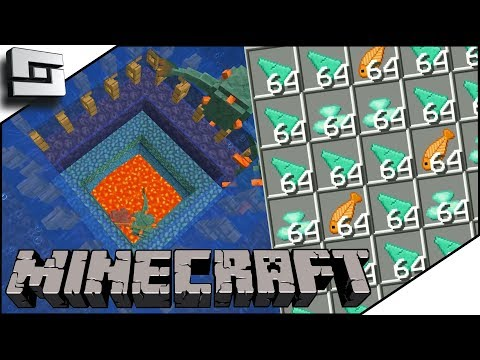 Built A No Drain Guardian Farm In My Minecraft Let's Play! E8