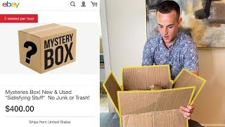 Unboxing A $400 Mystery Box (Worth It?)