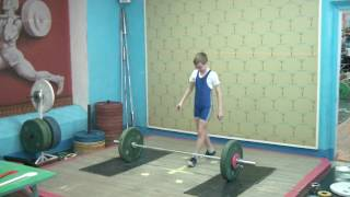 Ксенофонтов Матвей, 12 лет, вк 34 Толчок 40 кг