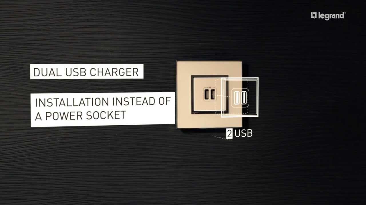 Arteor Usb Chargers Legrand Youtube