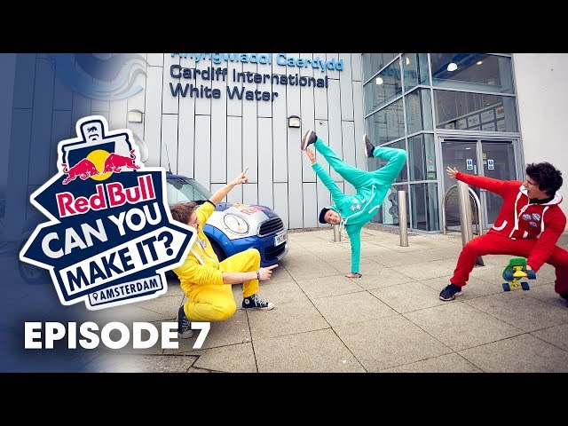 360° pole vaulting over water.   Red Bull Can You Make It Episode 7