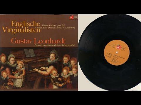 Gustav Leonhardt (harpsichord) Englische Virginalisten