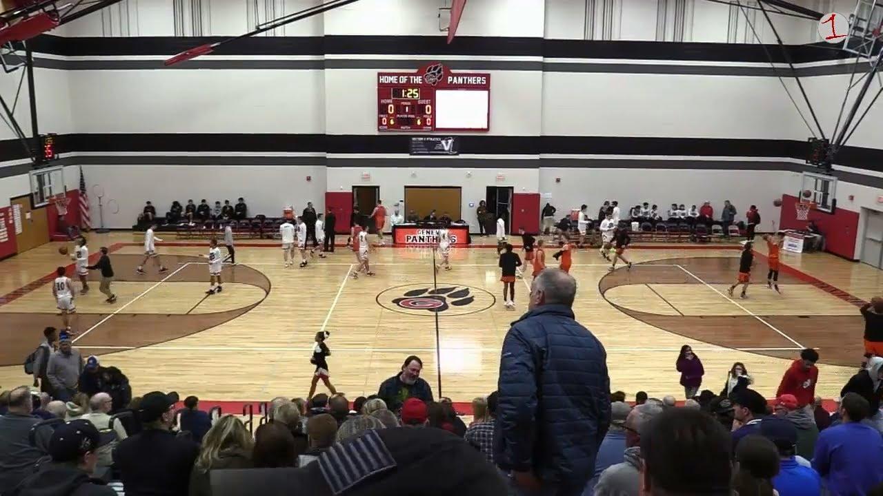 Waterloo Indians vs. Geneva Panthers .::. Friday Night High School Basketball on FL1 Sports 1/17/20