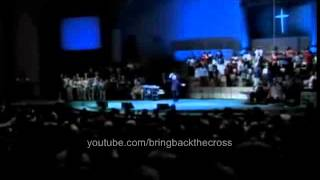"Benny Hinn sings ""Blessed Be The Lord God Almighty"""
