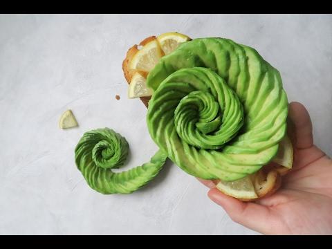 rose-en-avocat-:-recette-facile-&-inratable-|-easy-avocado-rose-|-vegan