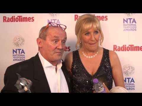 National Television Awards 2014: Radio Times meets Brendan O'Carroll and Jennifer Gibney