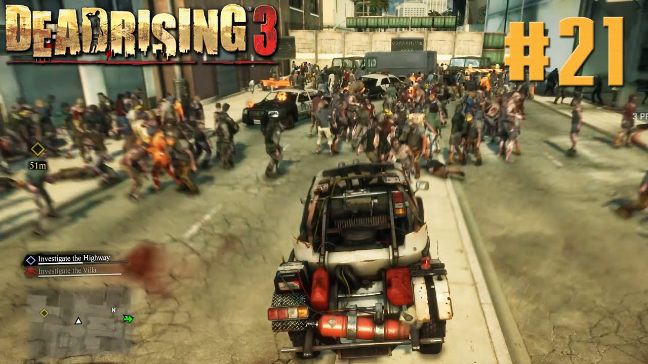 Dead Rising 3 Pc Gameplay Walkthrough Max Settings 1080p Part 21 Youtube