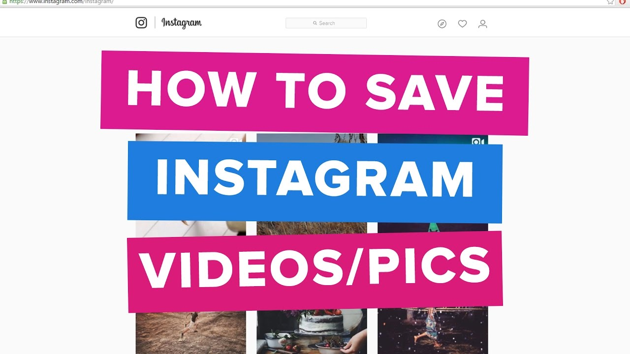 How To Save Instagram Posts On Computer (Working 2019)