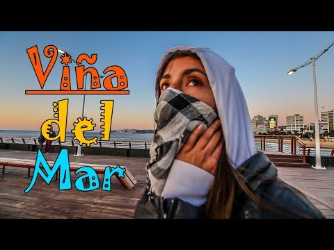 WELCOME TO VIÑA del MAR! - Chile Travel Vlog