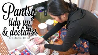 PANTRY TIDY UP & DECLUTTER
