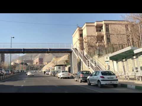 Tehran Metro Ta'rish to Mount Tochal