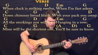 Jolly Old Saint Nicholas - Fingerstyle Guitar Cover Lesson in G with Chords/Lyrics
