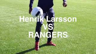 Henrik Larsson goal recreation | Achieve More!