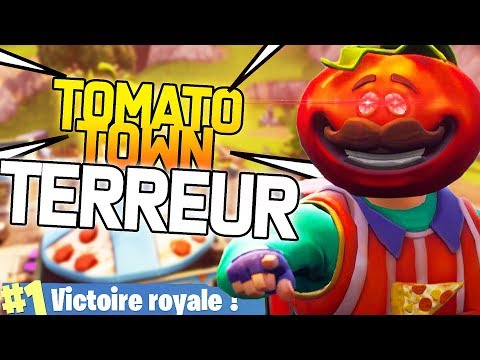 TOMATO TOWN TERREUR ! | Fortnite Battle Royale