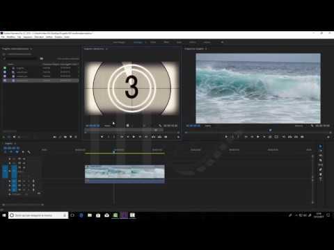 Adobe Premiere CC2018 . Inserimento di una clip con sovrapposizione