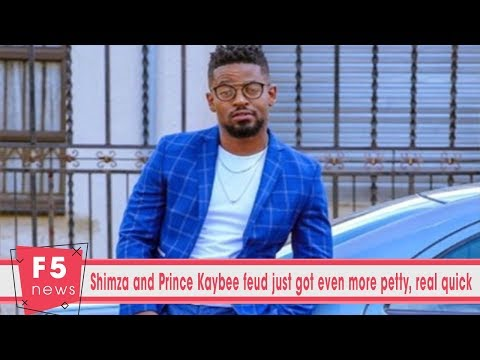 Shimza and Prince Kaybee feud just got even more petty, real quick