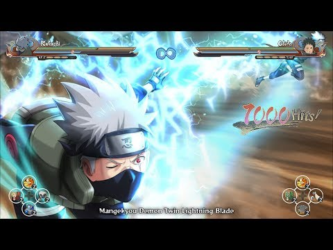 Kakashi's Perfect Sharingan Nature Chakra Awakened - Naruto Ultimate Ninja Storm 4 Road To Boruto