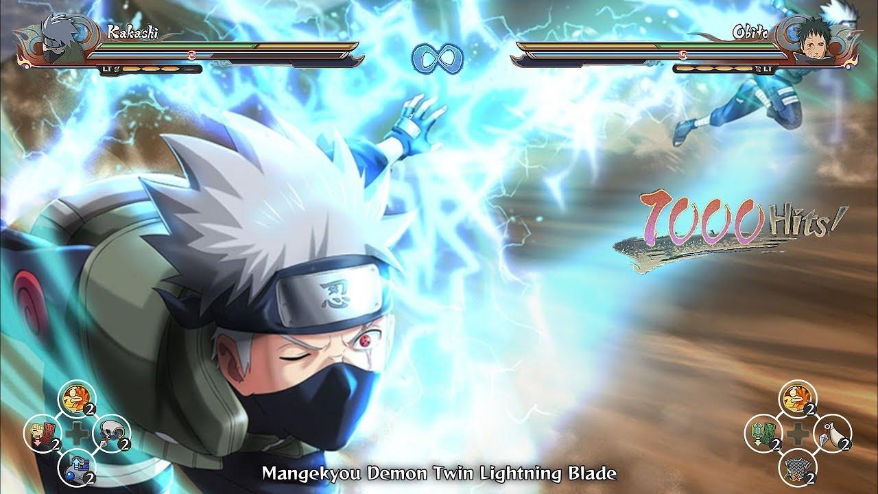 Kakashi's Perfect Sharingan Nature Chakra Awakened - Naruto Ultimate Ninja  Storm 4 Road to Boruto