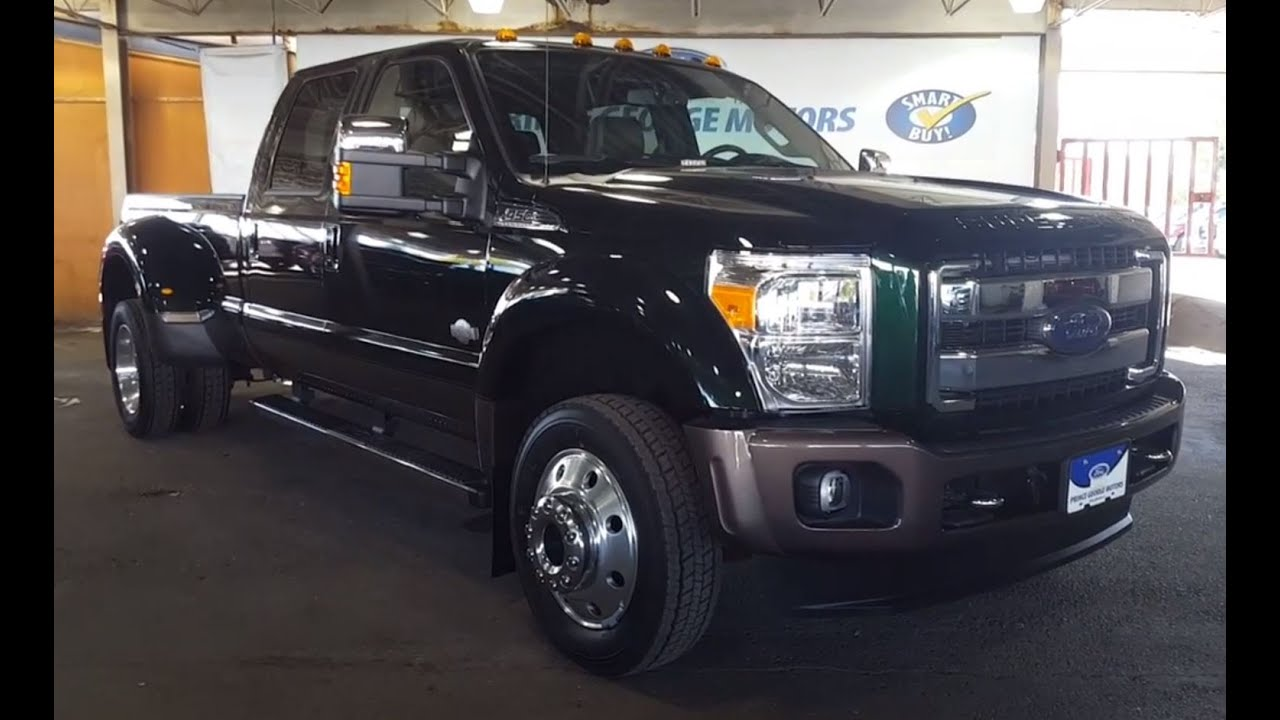 2016 Ford Super Duty F 450 Drw 4wd Crew Cab 172 King Ranch Pickup