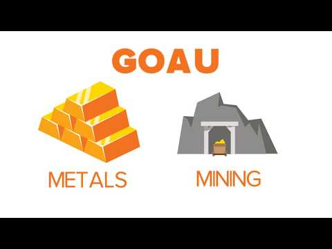 GOAU: The New Way to Invest In Metals and Mining