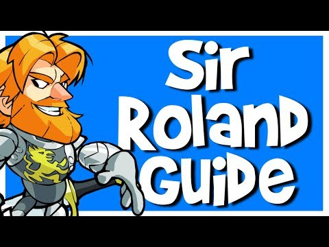 Sir Roland Brawlhalla Guide | Combos, Strings, Abilities, etc.