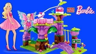 Mega Bloks Babie Fairy Treehouse Build N Play Construction Set - Barbie Treehouse