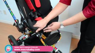4 Moms Origami Electronic Stroller demo - YouTube | 180x320
