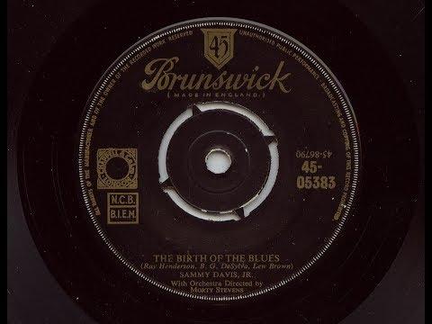 Sammy Davis Jr 'The Birth Of The Blues' Original 1955 45 rpm