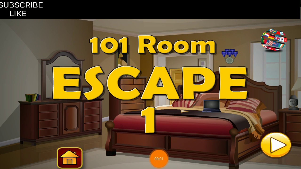 Classic Bedroom Escape 101 Room Escape Level 1 Classic Door Escape Walkthrough Hfg