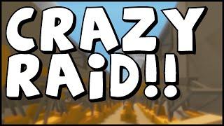 CRAZY BASE RAID??? UNTURNED Base Raid... Kind Of?