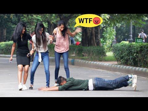 Pranam Bhabiji🙏 Best Prank On Cute Girls 😲 PrankBuzz   Prank In Kolkata
