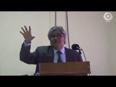 B S Chimni  at IIM Calcutta Conference, 2016