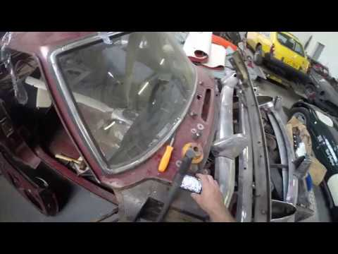 Removing MGB Door hinge screws