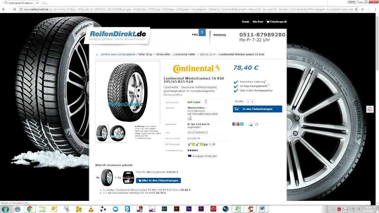 reifen g nstig kaufen preisvergleich der neuen art pneu billig kaufen youtube. Black Bedroom Furniture Sets. Home Design Ideas