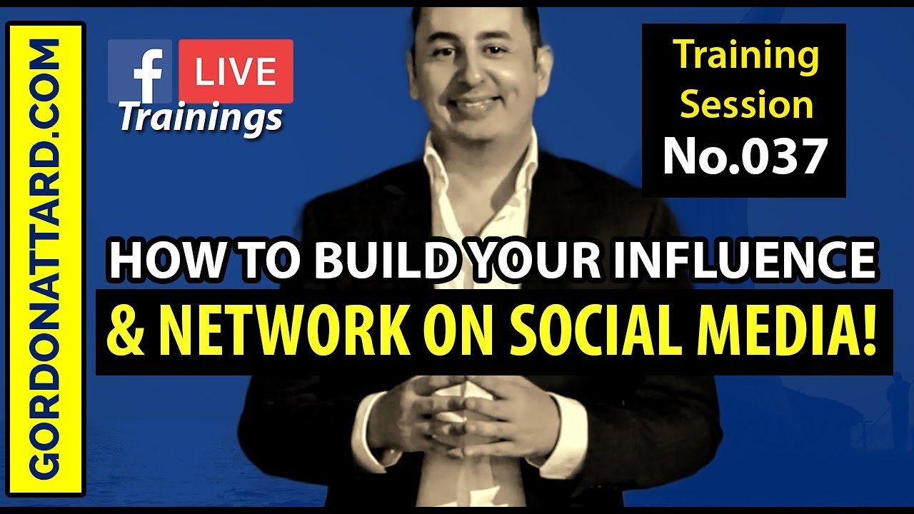 How To Build Your Influence And Network On Social Media!