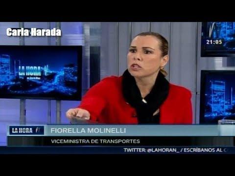 Fiorella Molinelli, viceministra de Transportes, califica de político el informe de la Contraloría