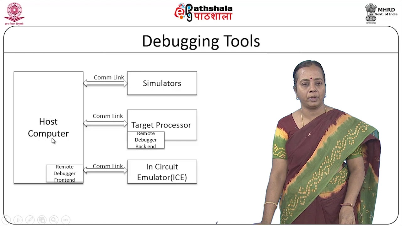difference between in-circuit emulator and debugger