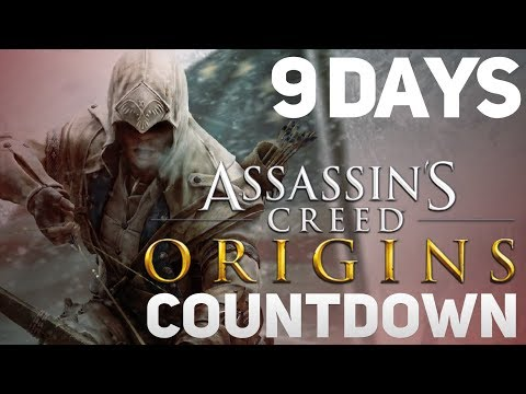 Assassin's Creed Origins COUNTDOWN - 9 Days To Go (Assassin's Creed III 'Funtage')