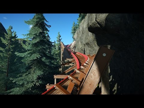 Planet Coaster - Warrior Valley (Hybrid Coaster)