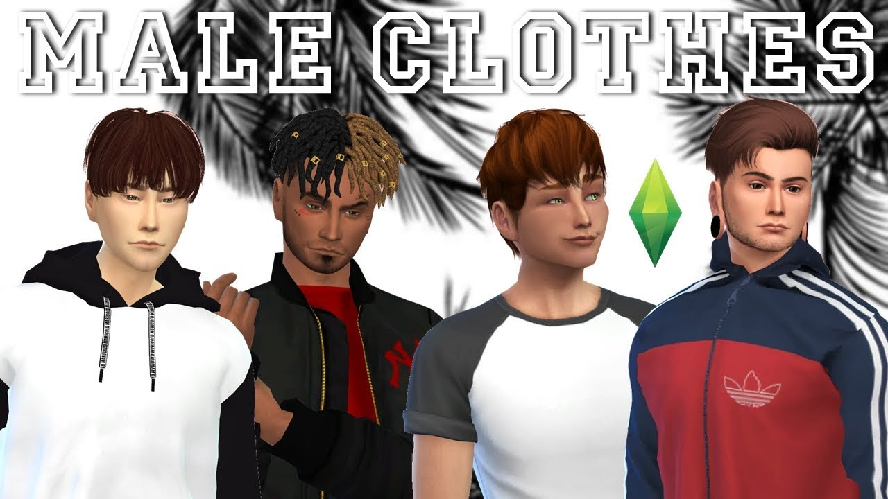 Roupas Masculinas Pack The Sims  Male Clothes Pack