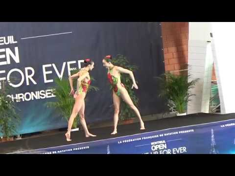 CHINA Sichuan Free duet prelim - 2017 Open Make up for ever