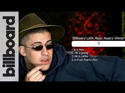 Bad Bunny Plays 20 Questions | Billboard Latin Music Week 2018