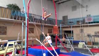 Спортивная гимнастика(Томащук Илья 8 лет) тренер Ягодин Сергей, Черкассы