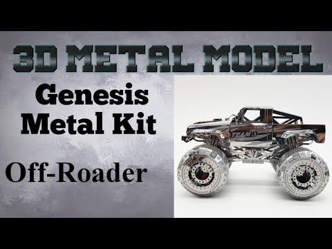 Gensis Metal Model build - Off-Roader